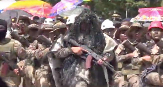 Tarapoto: imponente desfile cívico militar por los 198 años de Independencia Nacional