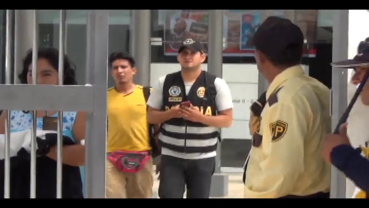 Intervienen hospital del MINSA por investigación de presunto hecho de corrupción