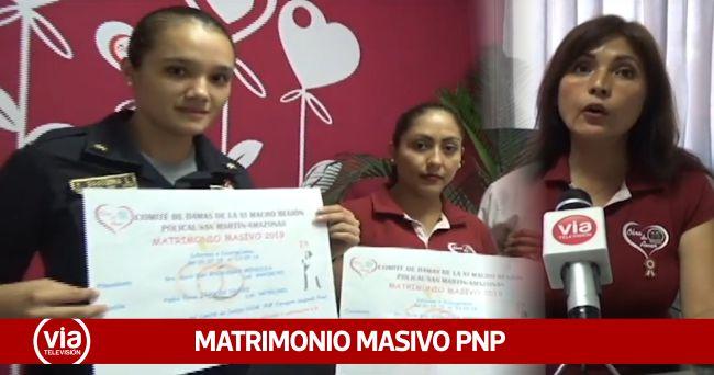 Tarapoto: programan matrimonio masivo  para el personal policial