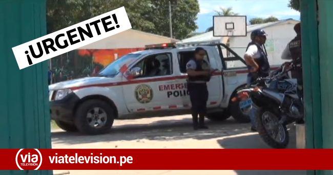 Tarapoto: investigan posible violación a una estudiante de nivel secundario