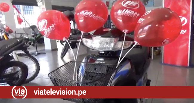 SOCOPUR entrega motocicleta para  la realización de la carrera infierno verde