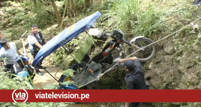 Tarapoto: aliancistas arrojan al barranco a motocar de hincha de universitario