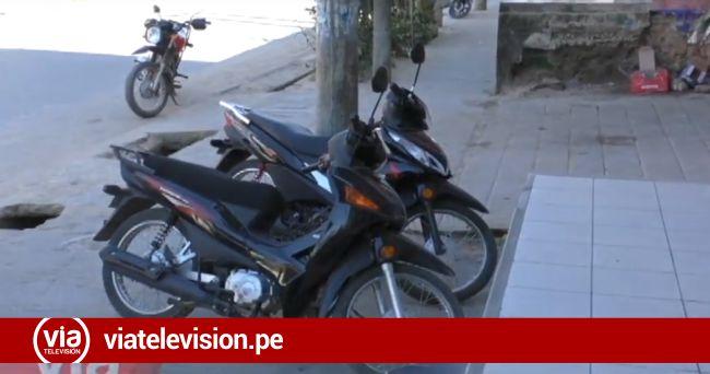 Morales: prohíben estacionamiento de vehículos en veredas