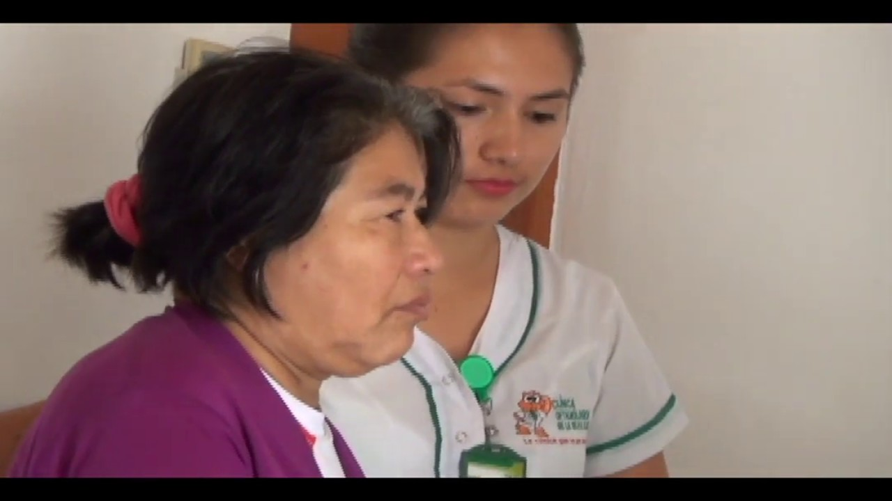 Mujer con problema de ceguera será operada de manera gratuita