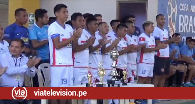 Concluye copa América Canera 2019 en el penal de Sananguillo