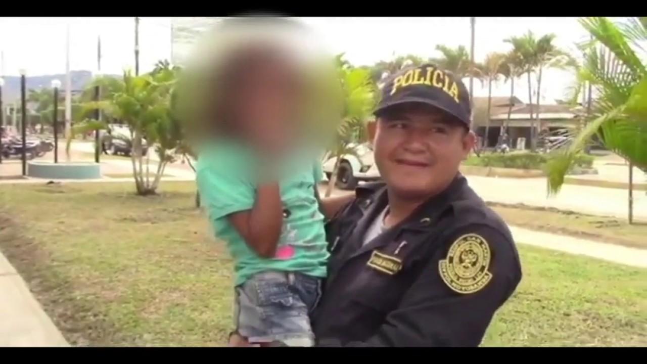 Nueva Cajamarca: encuentran en tiempo récord a niña que fue secuestrada