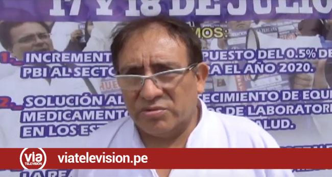 Tarapoto: cuerpo médico del hospital regional culmina paro de 48 horas