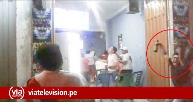 Picotinos salieron a las calles tras clasificación a la final de la Copa América