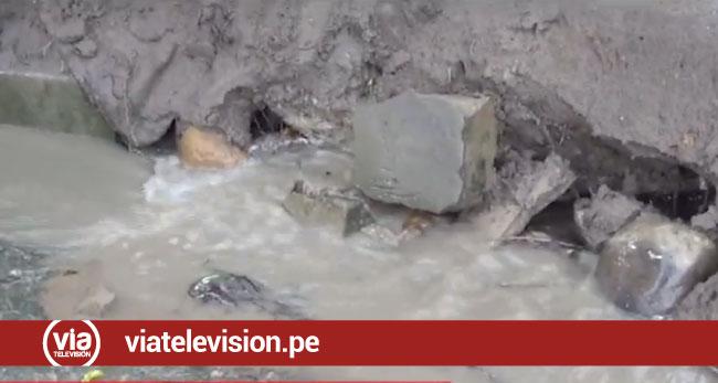 Exigen mejoras en sistema de drenaje  pluvial de calle declarada en emergencia
