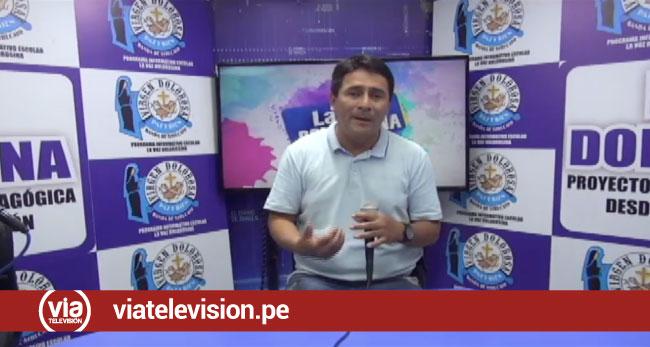 Profesor es reconocido por trabajo en actividades pedagógicas desde la Radio y TV
