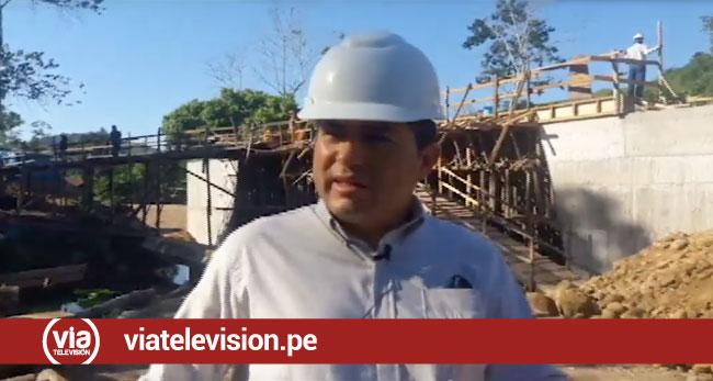 Puente Yuracyacu en Agua Blanca  beneficiará a cientos de familias