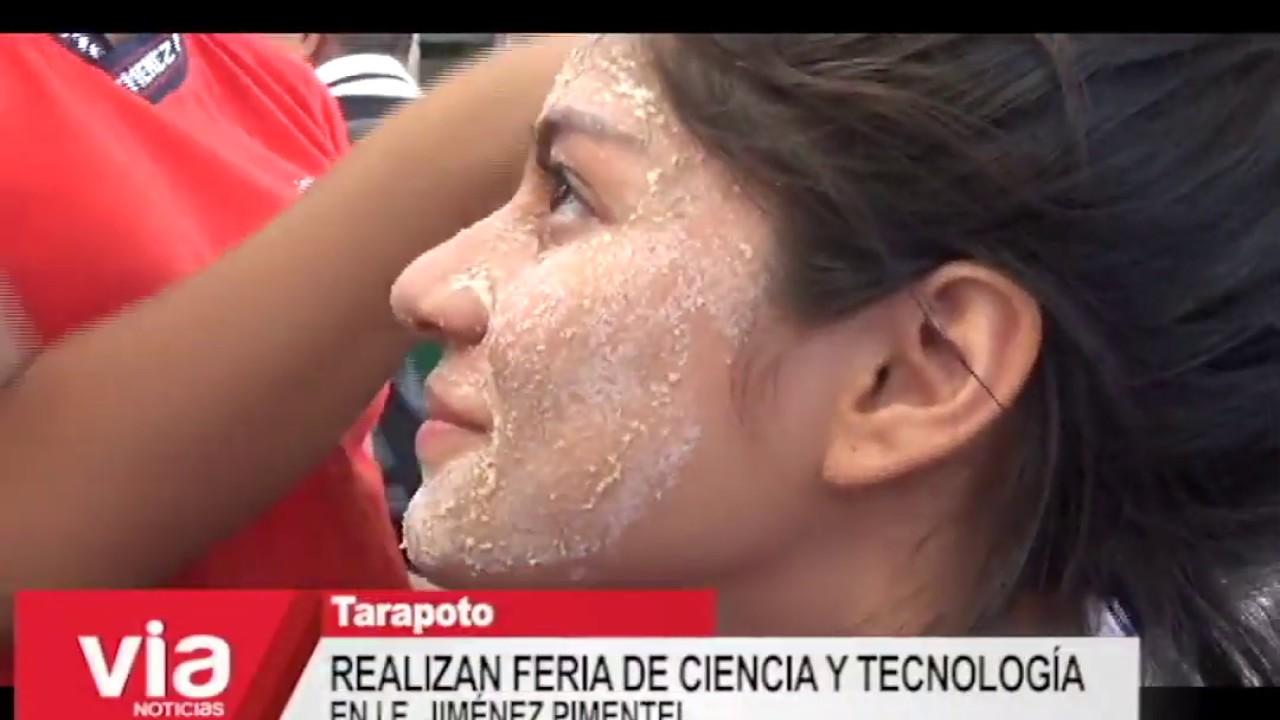 Realizan feria de ciencia y tecnología  en I.E. Jiménez Pimentel