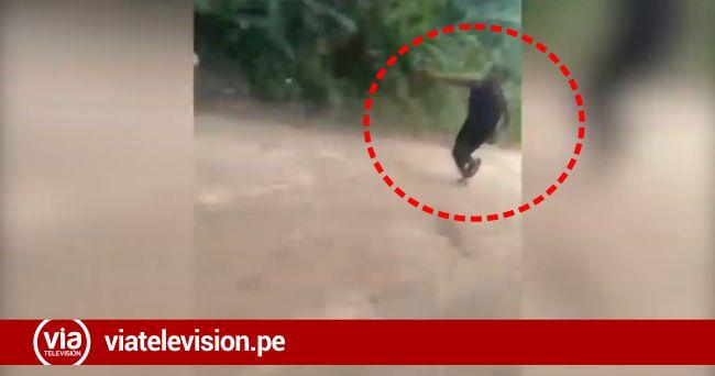 Mujer resulta herida de bala durante enfrentamiento entre nativos y ronderos