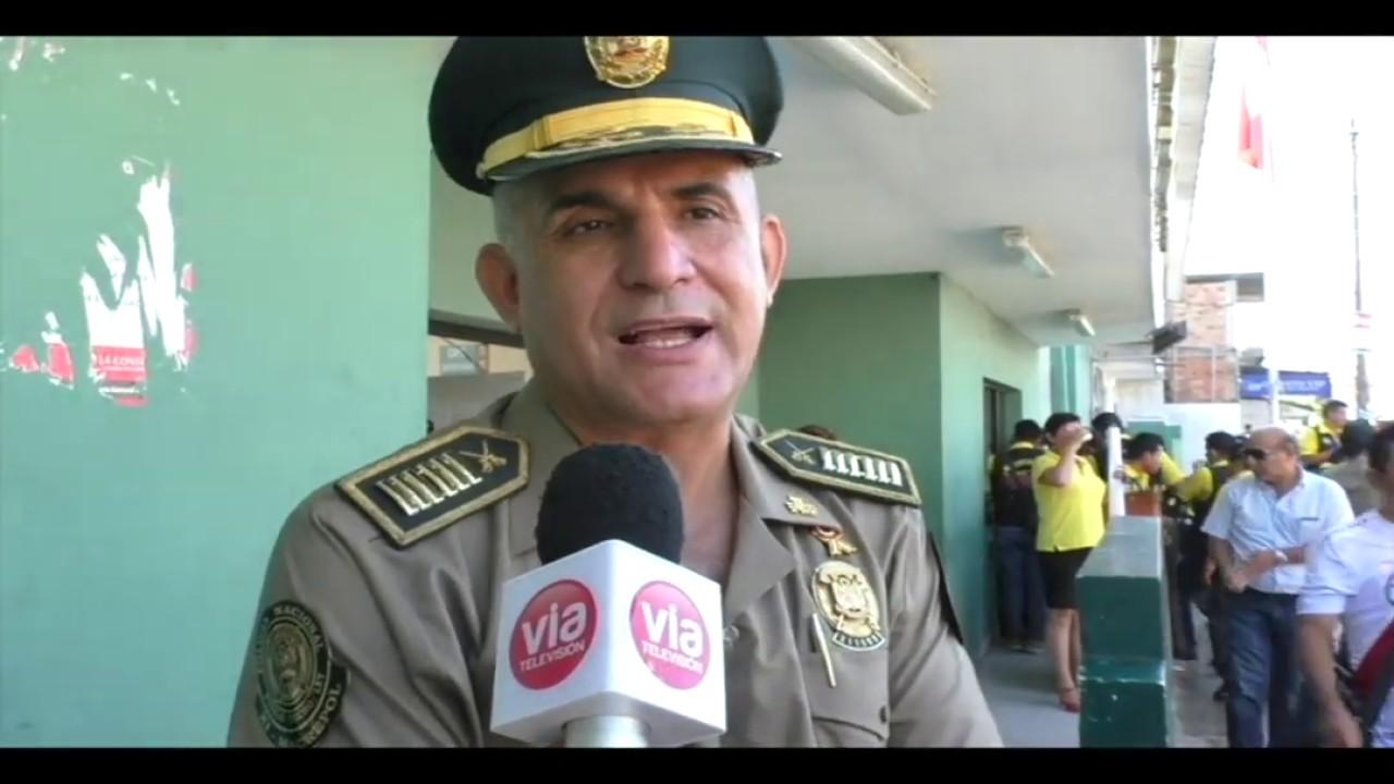 Tarapoto: PNP pondrá en ejecución plan de operación por Fiestas Patrias