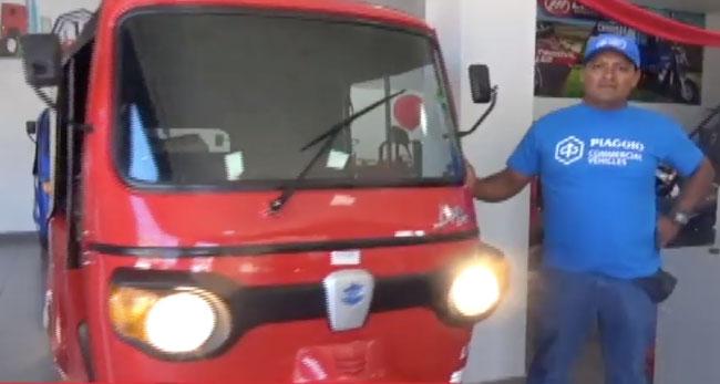 Tarapoto: SOCOPUR vende su primer trimóvil modelo torito