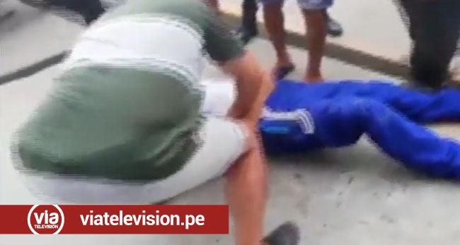 Tocache: estudiante sufre accidente cuando se dirigía a su colegio