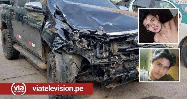 Morales: dos muertos tras choque de camioneta y motocicleta