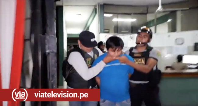 Tarapoto: encarcelan a presunto asaltante de estudio contable