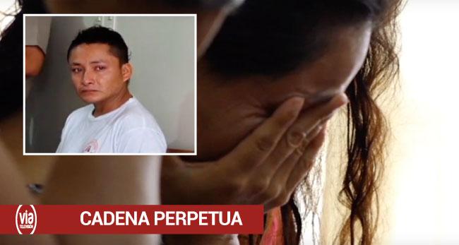 Tarapoto: fiscalía pide cadena perpetua contra feminicida