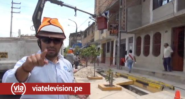 Trabajador de empresa eléctrica cae de poste y resulta con graves heridas