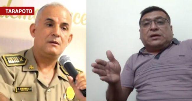 Empresario víctima de asalto responde al jefe de la Región Policial San Martín