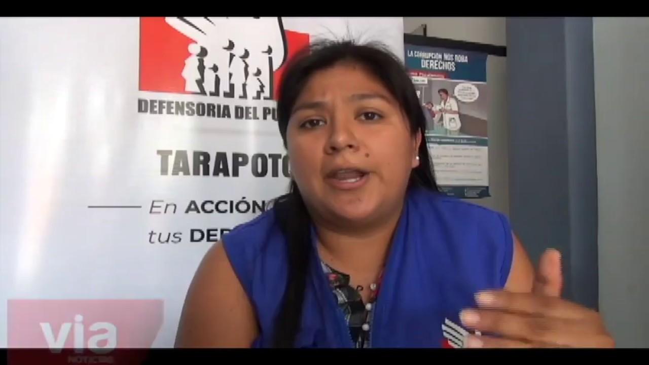 Defensoría del pueblo recomienda denunciar casos de violencia hacia la mujer