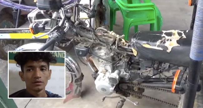 Capturan infraganti a presunto  desmantelador de vehículos