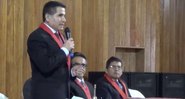 Jueces de San Martín celebran su día con sesión solemne
