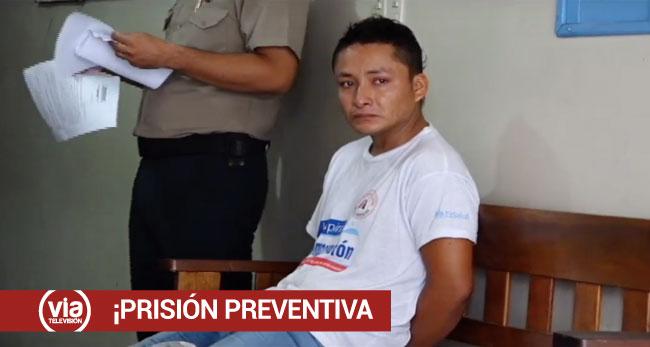 Tarapoto: dictan 7 meses de prisión preventiva contra feminicida