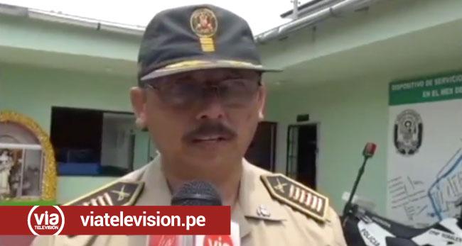 Intervienen a ex Jefe de la III Dirección Territorial de San Martín