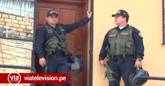 Tarapoto: por el caso de Lamas allanan vivienda en el barrio La Hoyada