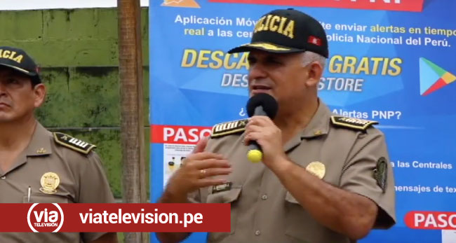 Tarapoto: policía presenta plan para erradicar delincuencia en la ciudad