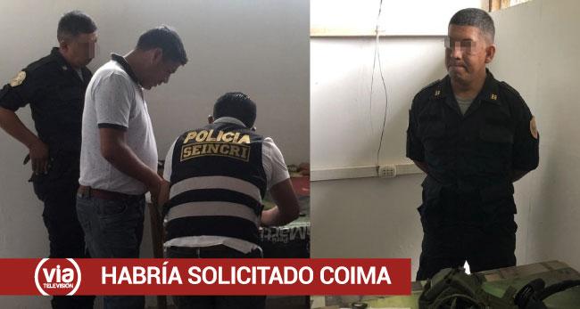 Tarapoto: intervienen a instructor policial que habría solicitado coima