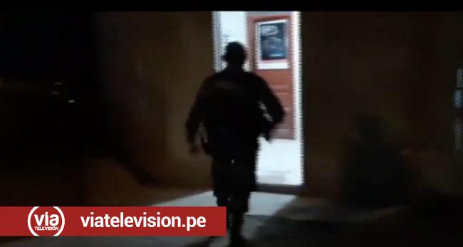 Llegan a la base antidrogas personal que participó en operativo en el Bajo Huallaga