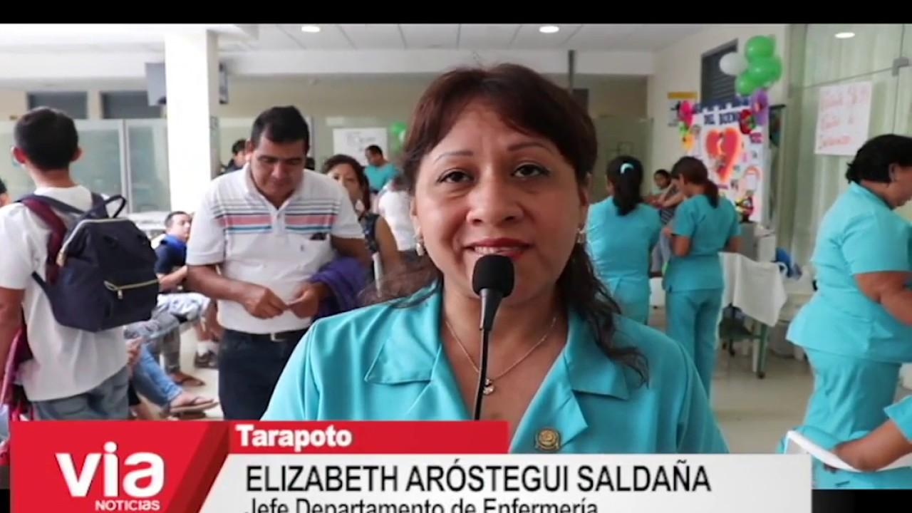 Realizan actividad de orientación por el día del enfermero peruano