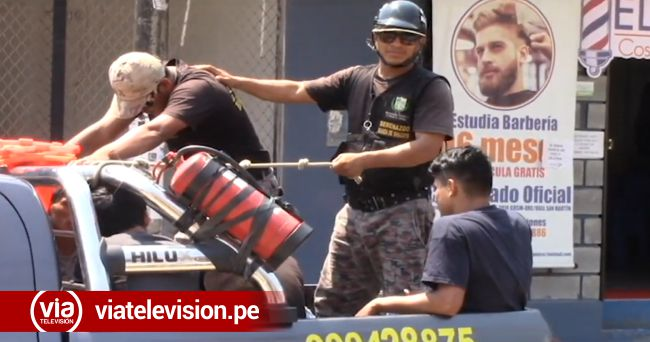 La Banda de Shilcayo: intervienen a drogadictos por alterar el orden público