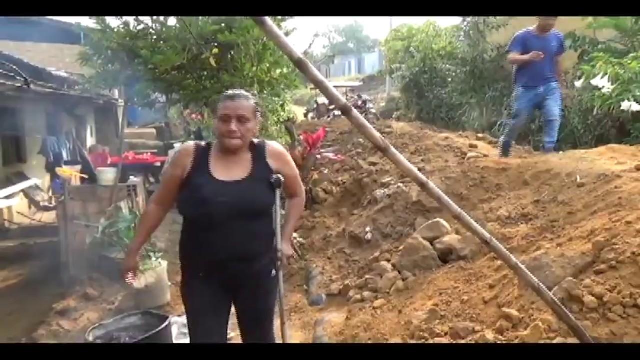 Solicitan retirar montículos de tierra de la segunda cuadra dos del Jr. Las Margaritas