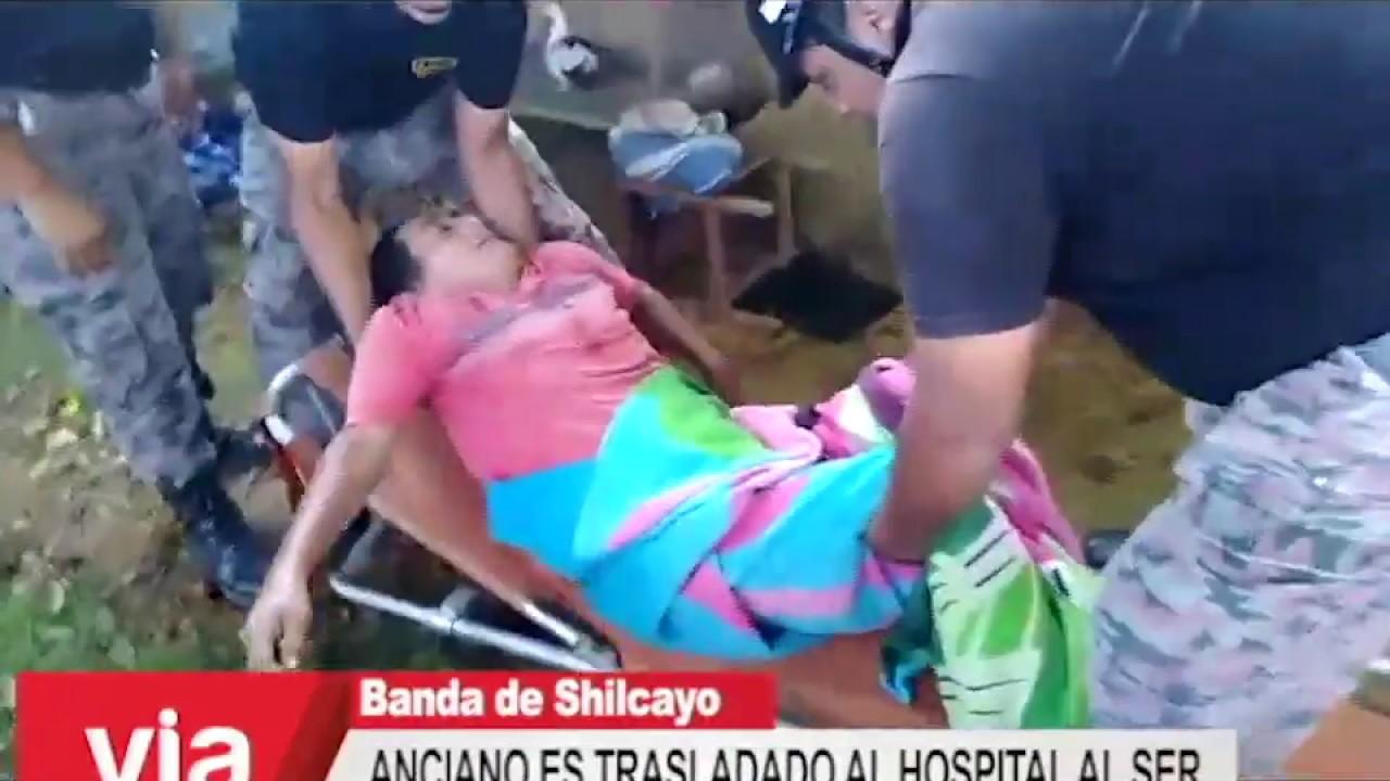 Anciano es trasladado al hospital al ser encontrado mal de salud en su vivienda