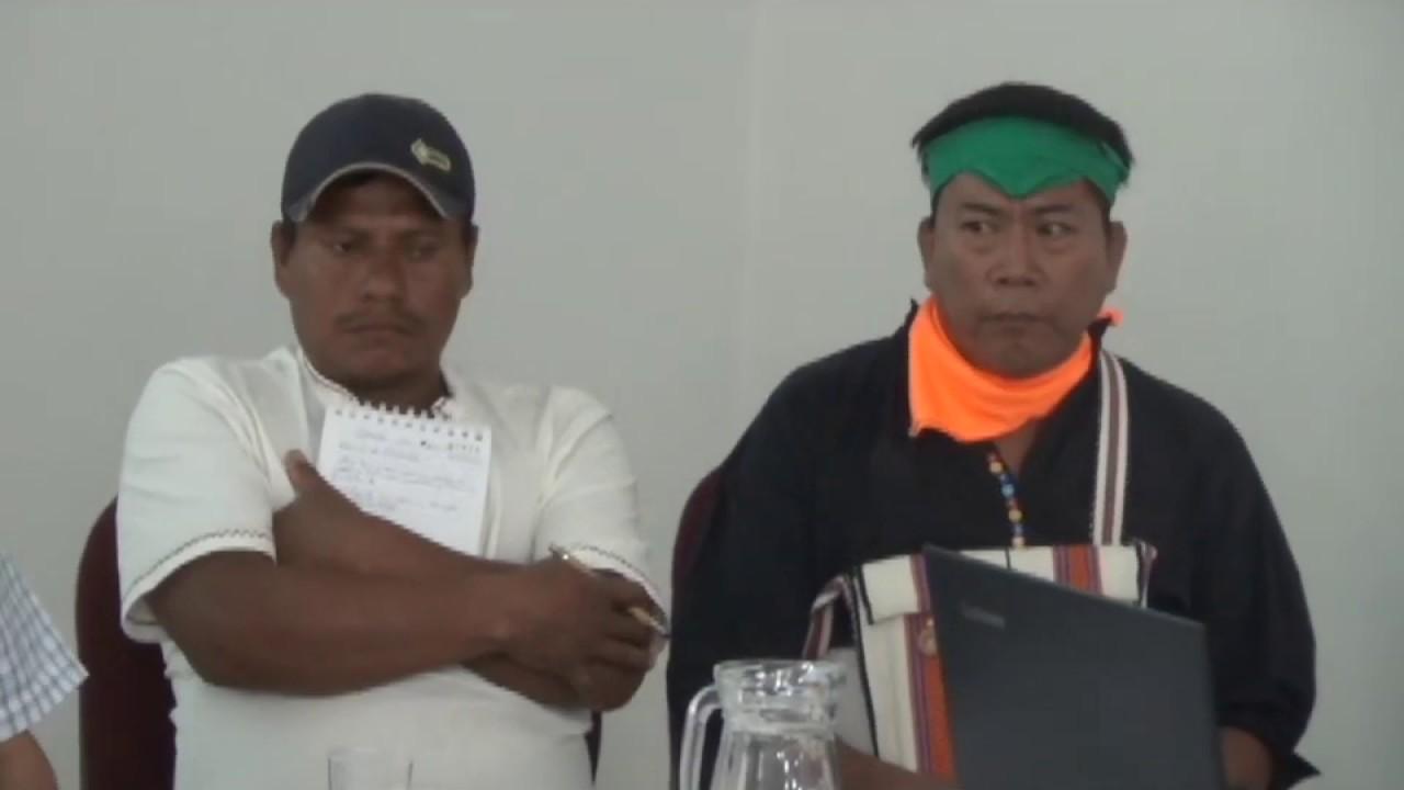 Dirigentes indígenas participan en Congreso de Justicia Intercultural