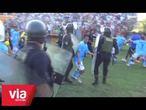 Encuentro deportivo por la Copa Perú termina en trifulca con un futbolista herido