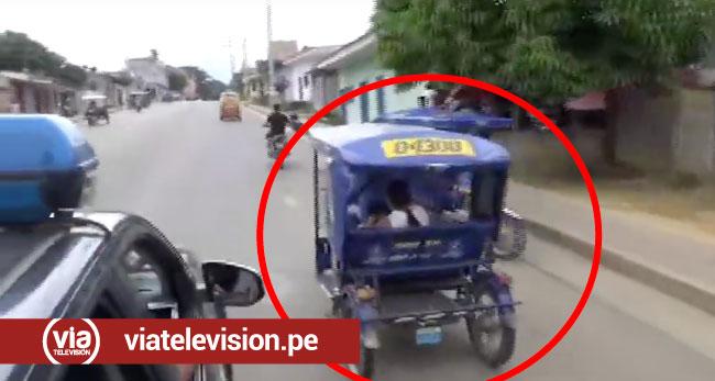 Chofer de motocar se da a la  fuga durante operativo vehicular