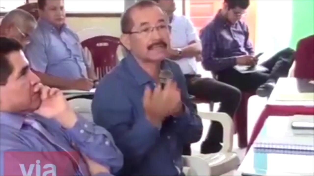 Gobernador recomienda a municipalidad de Tarapoto a reformular proyecto de SS.CC