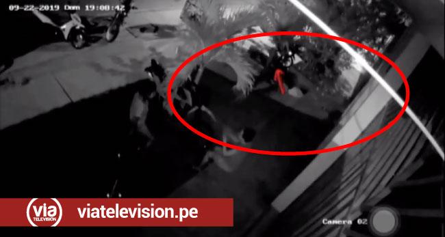 Tarapoto: cámara de video graba a mujer hurtando motocicleta