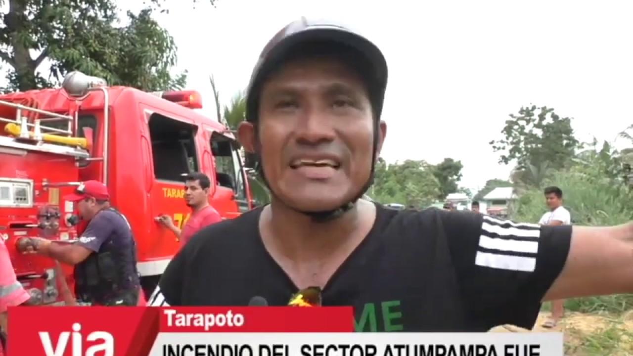 Incendio del sector Atumpampa fue provocado según jefe de la CÍA de Bomberos