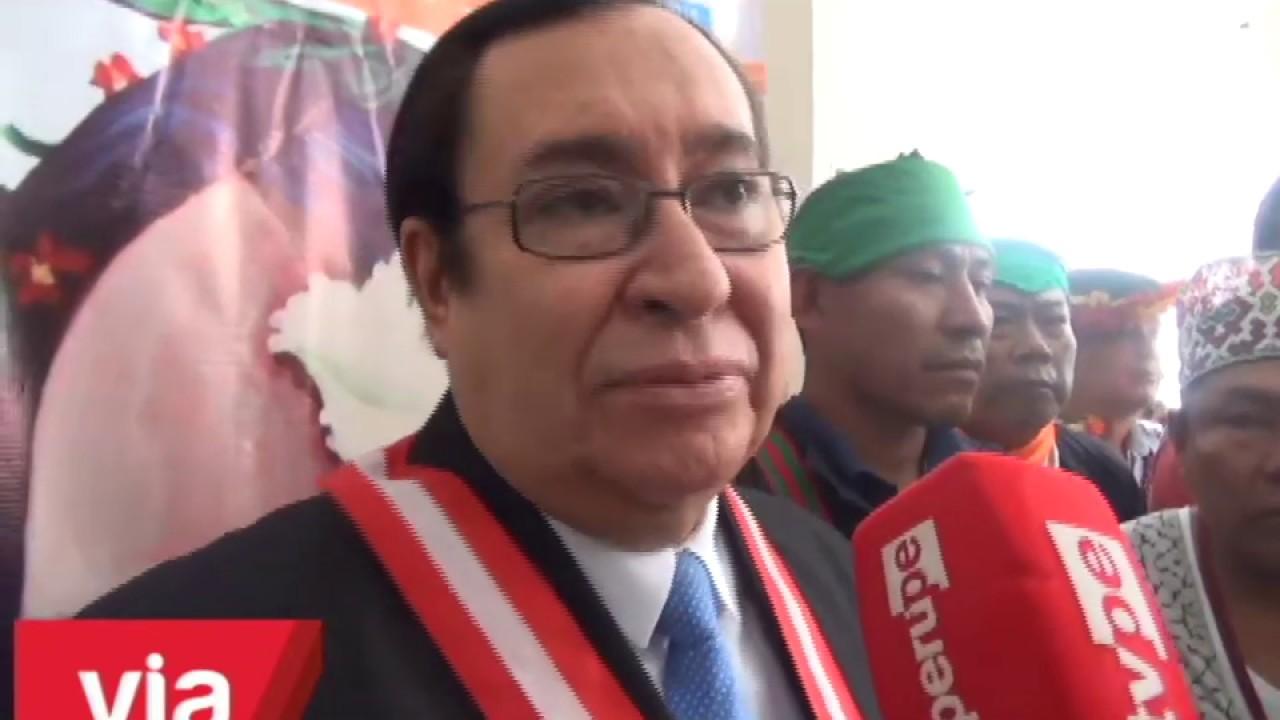 Juez Supremo participa en Congreso de Justicia Intercultural