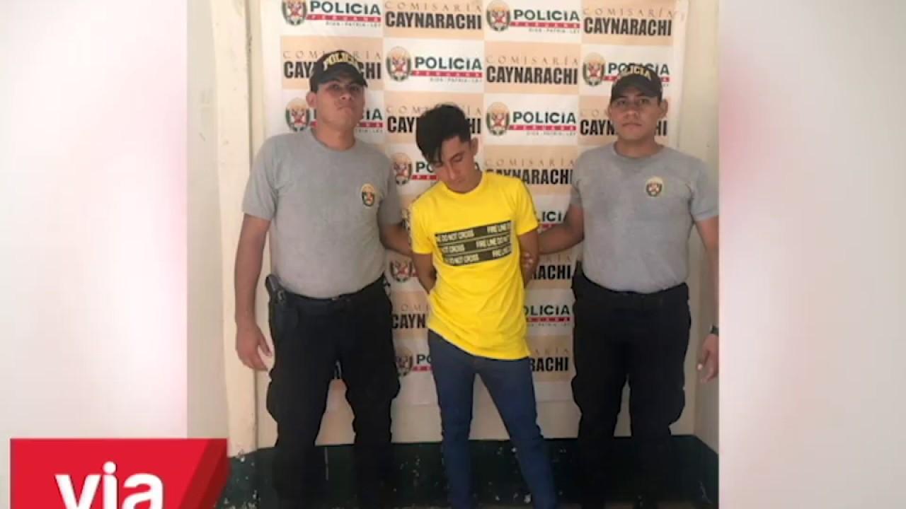 Policía del Pongo de Caynarachi interviene a uno de los más buscados