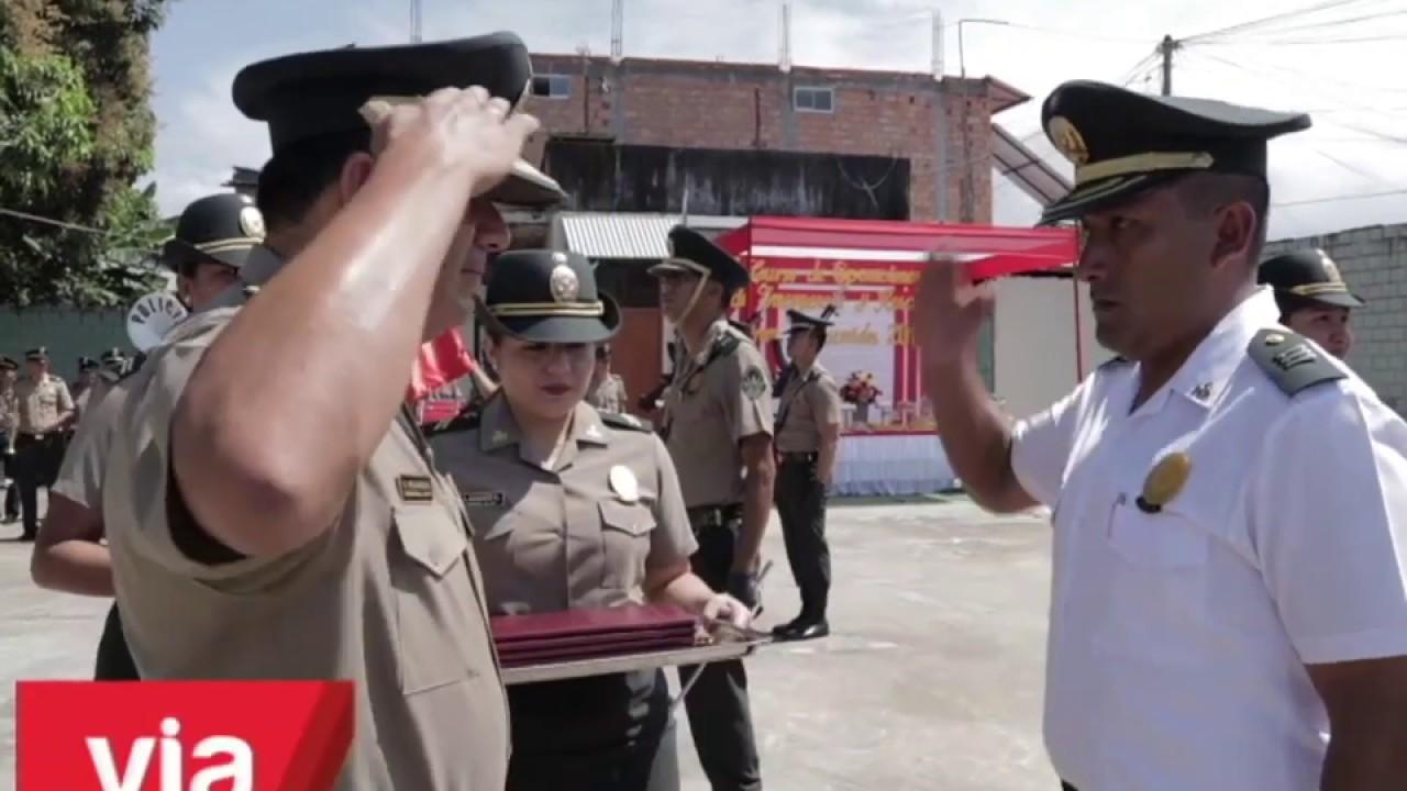 Policías se gradúan en primer curso de operaciones de emergencia y rescate
