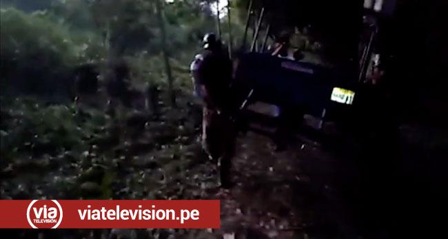 Encuentran chasis de mototaxis desmantelados en La Banda de Shilcayo