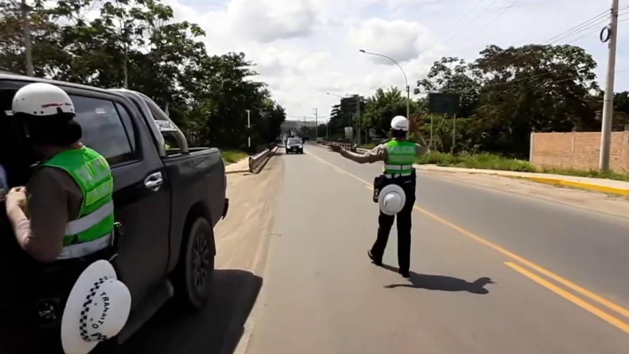 Tarapoto: ejecutan mega operativo de control de identidad