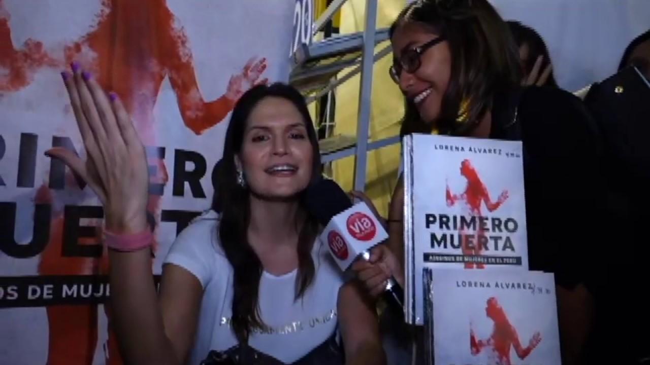 "Tarapoto: periodista Lorena Álvarez presenta su libro ""Primero Muerta"""